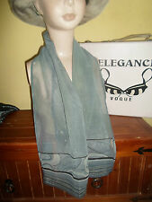 1 NEW Mixed Fibre Ladies CHIC GREY Scarf  Gift Idea #92