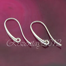 Sterling Silver Earwires Fish Hook Findings