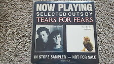 Tears For Fears - US Vinyl PROMO LP (Now Playing - Instore Sampler)