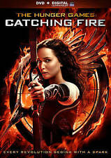 The Hunger Games: Catching Fire (DVD, 2014, Includes Digital Copy)