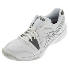 Asics Men's Gel-Gamepoint Shoes White/Charcoal/Silver 7
