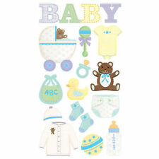 EK SUCCESS STICKO BABY OBJECTS ICONS PREGNANCY MATERNITY SCRAPBOOK STICKERS