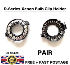 PAIR New Xenon D1S D1R D1C D3S HID Headlight Bulb Clip Rings Holder Adapters