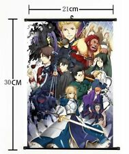 Hot Japan Anime Fate stay night Fate Zero Wall Scroll Poster cosplay 714