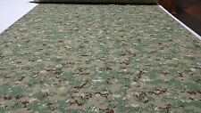 """GREEN/BROWN DIGITAL MILITARY CAMO NY/CO RIPSTOP CAMOUFLAGE FABRIC 60""""W APPAREL"""