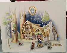 Disney Anniversary Snow White and Forest Friends Blue Bird pin Set 6 Pins Le