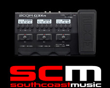 ZOOM G3XN GUITAR DIGITAL EFFECTS & AMP SIMULATOR MULTI FX / AMP SIMULATOR PEDAL