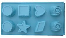 SILICONE CONFECTIONERY MOULD TRAY DIFFERENT DESIGNS - B99