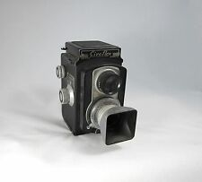 Ciro-flex Model D vintage TLR camera - Made in Delaware, OH USA ciroflex