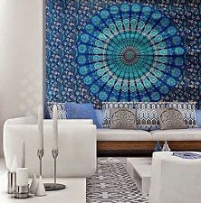 Twin Indian Tapestry Wall Hanging Mandala Hippie Blanket Bedspread Gypsy Throw