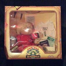 1984 Cabbage Patch Kids Traveler Doll Zara Mona China in Original Box Coleco