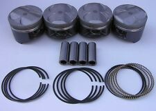 JDM NIPPON RACING P30 B16A B20 VTEC PISTON SET SIR II NPR 84.5mm Big Bore NEW