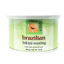 Clean + Easy Hard Wax Brazilian Bikini wax 14 oz