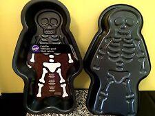 WILTON SKELETON CAKE PAN MOLD ~1 Non Stick Pan~Halloween~ Day Of The Dead