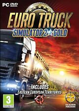 Euro Truck Simulator 2 Gold Brand New Sealed PC-DVD Includes Go East Expansion