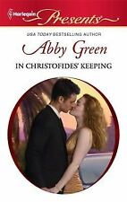 In Christofides Keeping (#2979), Green, Abby, Acceptable Book