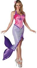 Mermaid Costume Fairytale Sea Princess Ladies Halloween Fancy Dress AU 6-10 New