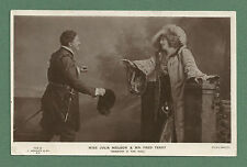 1906 RP POSTCARD THEATRICAL SCENE JULIA NEILSON & FRED TERRY J. BEAGLES & CO