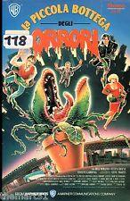 La piccola bottega degli Orrori (1986) VHS Warner Home Video 1a Edizione