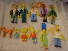 The Simpsons Bendable Action Figures Lot of 12