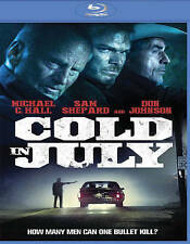 Cold in July [Blu-ray] Brand New