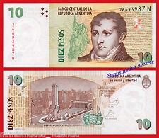 ARGENTINA 10 Pesos 2003 (2013) Serie N Pick 354 (5) SC /  UNC