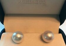Mikimoto 12mm White South Sea Pearl Earrings