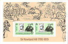 New Hebrides 1979 Sir Roland Hill First Stamp Souvenir Sheet MNH (SC# 266a)