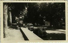 PHOTO ANCIENNE - VINTAGE SNAPSHOT - VOITURE AUTOMOBILE FOURGONNETTE - CAR