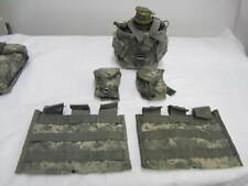 ACU Molle II  Triple / 3 Magazine Canteen Grenade Pouches  VGC
