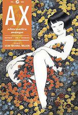 AX: v. 1: Collection of Alternative Manga (Paperback 2010) 9781603090421