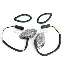 2 LED Motorcycle Turn Signal Indicator Light Flush Mount for Honda CBR 600 600RR