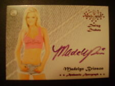 2016 Benchwarmer Daizy Dukez Ser. 2 Madelyn Brinson AUTO PINK PLAYMATE