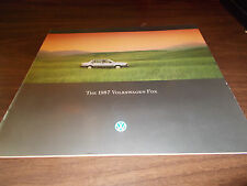 1987 Volkswagen Fox Sales Catalog