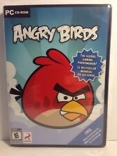 Angry Birds New Factory Sealed, PC CD-ROM. Free Mini Poster Inside.