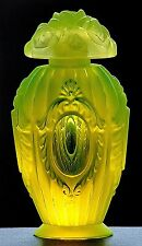 WINDOW TO HEAVEN - PESNICAK, Uranium - Bohemian signed Perfume Bottle.