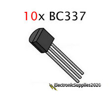BC337-40 NPN Transistor (TO-92) BC337 - General Purpose-USA Fast Shipping