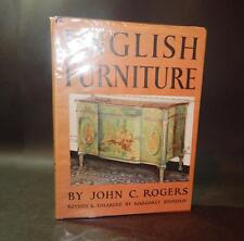 1961 Rogers ENGLISH FURNITURE Revised ILLUSTRATED H/B D/W