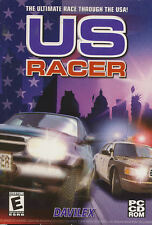 US RACER USA Racing Simulation PC Game NEW in BOX