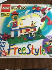 New Nos LEGO System Free Style  4162 Retired ~~1995 Vintage   596 Pcs