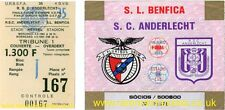 reproduction 1983 RSC ANDERLECHT SL BENFICA uefa cup final tickets [RMT]