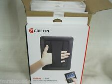 Griffin Airstrap  Case For Apple iPad Original 1st Gen GB01759 w/Hand Strap Blk.