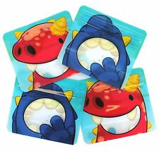 Reusable snack bags by Nom Nom Kids pack of 4 (resealable snack bags) BPA free