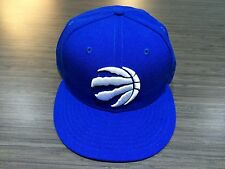 Toronto Raptors Basketball Claw Ball Huskies Blue White 59Fifty Hat Cap 7 1/4