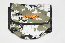 Nerf N-Strike Digital Camouflage Dart Ammo Bag Holder Belt Loop Attachment Used