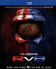 RVBX TEN YEARS OF RED VS BLUE Blu-ray Season 1-10 Set Halo Complete Series Show