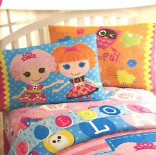 Lalaloopsy 2Pk. Set Pillowcase Cotton Rich 200 Fiber Pillowcases Cartoon Bedding