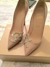 Gorgeous Christian Louboutin S. E. and X. Pigalle Beige 38.5