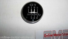 VOLKSWAGEN GOLF mk5 & mk6 GEAR KNOB badge, placca, Emblema-GT Sport Edition 6sp