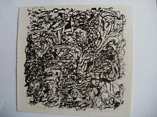 Franz Vornberger abstrakte Komposition handsigniert 1963 nürnberg informel